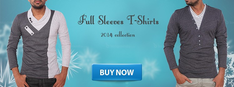 Full Sleeves T-Shirt 2014 Winter Collection