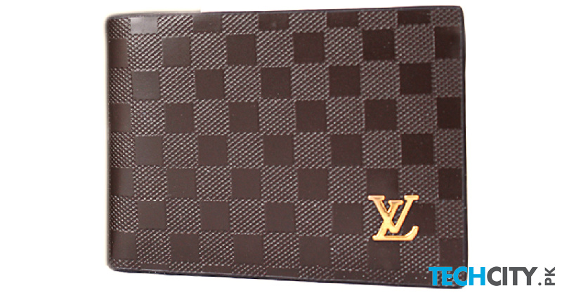 Buy LV Brown Dotted Leather Wallet SF-1934 online in
