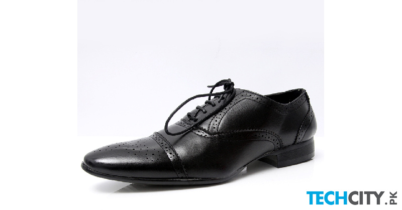 buy black brogue pointed toe formal shoes lw 7026