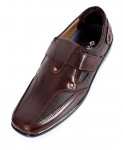 Brown Stylish Casual Slip On Shoes IS-010