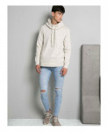 White Funnel hoodie FW-24