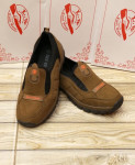 Brown Stylish Design Slip-On Shoes LW-7176