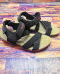 Black Strap Stylish Design Casual Sandal LW-7177
