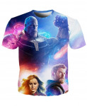 YOUTHUP 3D Avengers End Game T-Shirt