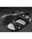 Black Two-Strap Design Casual Sandal LW-6032