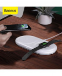 Baseus 2 in 1 Wireless Charger For Apple Watch and iPhone