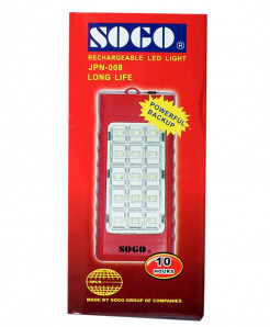 3 X Sogo Rechargeable Led Light JPN-008