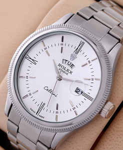 RX Geneve Cellini White Dial Watch