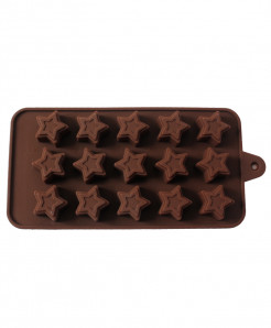 2X Silicon Chocolate Moulds