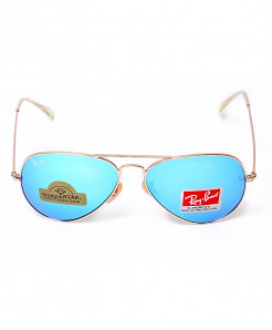 Ray B Aviator Aqua Green Sunglasses RB6315