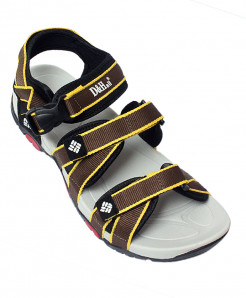 DnHall Lime Brown Stylish Sandal SN-1544