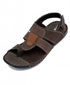 Brown Thumb Style Casual Sandal