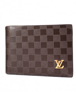 LV Brown Dotted Leather Wallet SF-1934