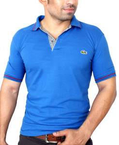Lacoste Logo Blue Polo-Shirt