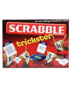 Scrabble Trickster Brand Crossword Game