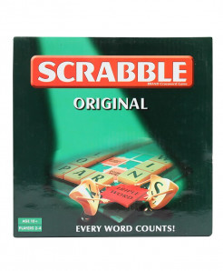 Scrabble Original Mini Brand Crossword Game No-55109