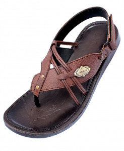 Brown Flip Flop Stylish Design Casual Sandal CR-5086