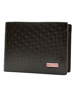 GA Black Rexine Stylish Wallet 9121