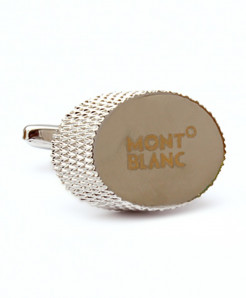 MB Stylish Silver Cufflinks