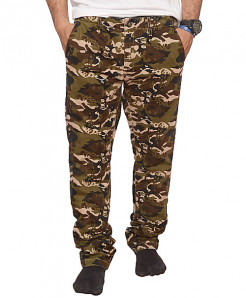 Army Green Camouflage Stylish Casual Pant