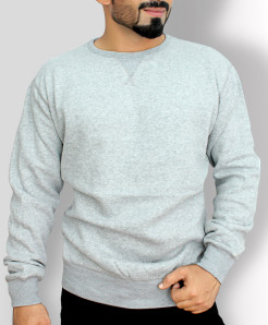 Heather Grey Stylish Sweat Shirt