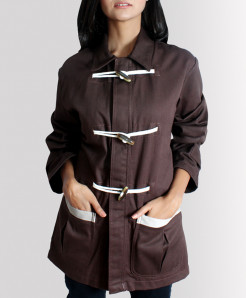 Choco Celio Loop Drill Cotton Ladies Long Coat FSB-2541