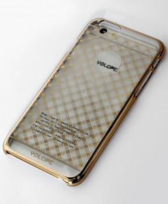 Iphone 6 Plus Golden Ultra Slim Aluminum Back Case