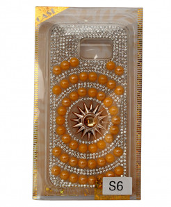Samsung Galaxy S6 Diamante And Beads Back Case