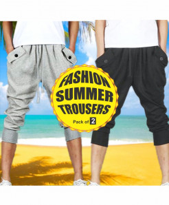 Pack Of 2 Summer Fashion Trousers