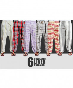 Pack of 6 Liner Pajamas LP-2213