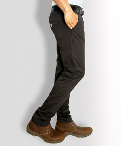 Chocolate Brown Stylish Men Causal Cotton Pant