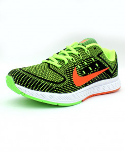 Light Green Flyknit Max Stylish Sports Shoes DR-184