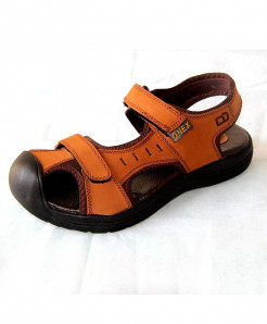 Mustard Brown Onex Double Strap Stylish Sandal MWS-030