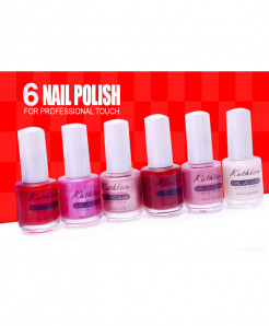 Pack Of 6 Nail Lacquer NL-2585