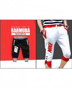 Pack Of 2 Barmuda Shorts BS-3242