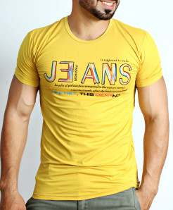 Yellow Jeans Logo T-Shirt NG-209