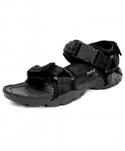 Black Tri Strap Stylish Casual Sandal CB-5072