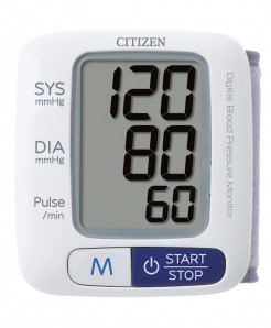 Citizen CH-650 Wrist Digital Blood Pressure