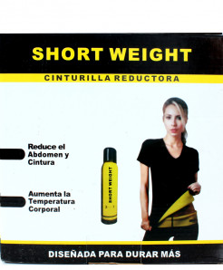 Short Weight Cinturilla reductora