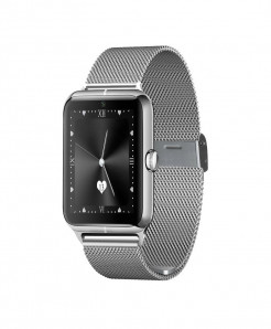 Silver Smart Watch-Z50 CZ-07