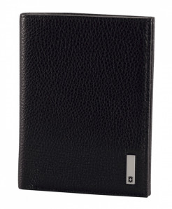 Victorinox Black Grenoble (Pebbled Leather) Mens Wallet