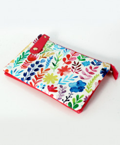 Oil Paint Design Stylish Ladies Clutch GL-1208