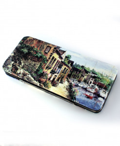 Home Printed Design Stylish Ladies Clutch GL-1214