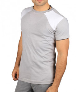 Grey Autumn Summer Slim Fit Casual T-Shirt ST-224