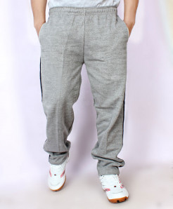 Grey Fleece Striper Trouser FSL-059