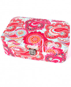 Varicolored Printed Stylish Makeup Box GL-1235