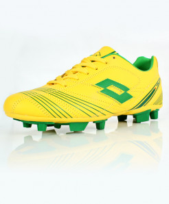 Yellow Green Stitched Style Sports Shoes DR-361