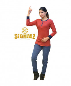 Red Striper T-Shirt SF-031