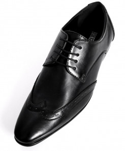 Black Design Stylish Formal Shoes  CB-2134