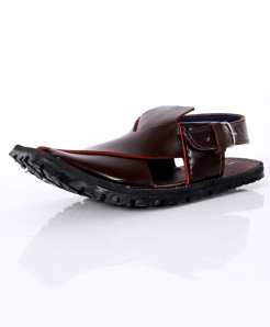 Choco Brown Stylish Design Peshawari Sandal AK-1057
